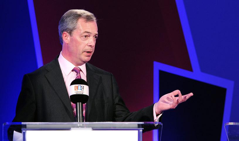 Nigel Farage, lider UKIP /AFP