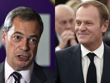 Nigel Farage masakruje Tuska