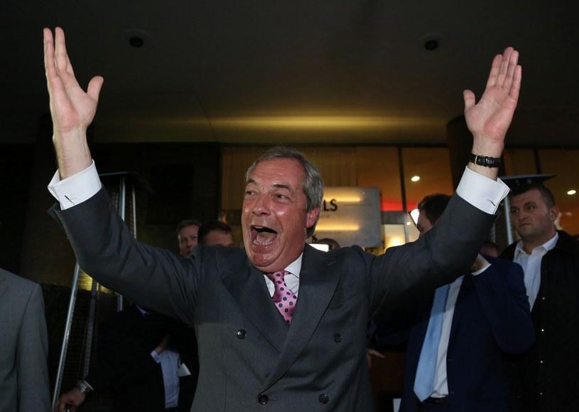 Nigel Farage /GEOFF CADDICK /East News