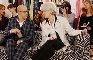 Nigel (Stanley Tucci) jest świetnym stylistą, autorytetem w swej branży. /fot  /Polsat