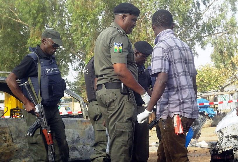Nigeryjscy policjanci, zdj. ilustracyjne /AFP