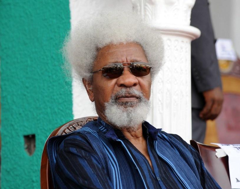 Nigeryjski dramaturg, pisarz i poeta, laureat nagrody Nobla Wole Soyinka /AFP