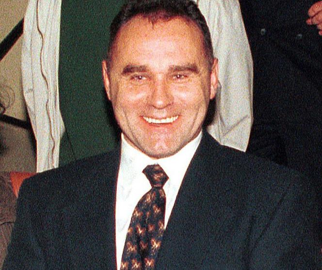 """Nikodem """"Nikoś"""" Skotarczak na zdjęciu z 1996 roku /Łukasz Głowala /Agencja FORUM"""