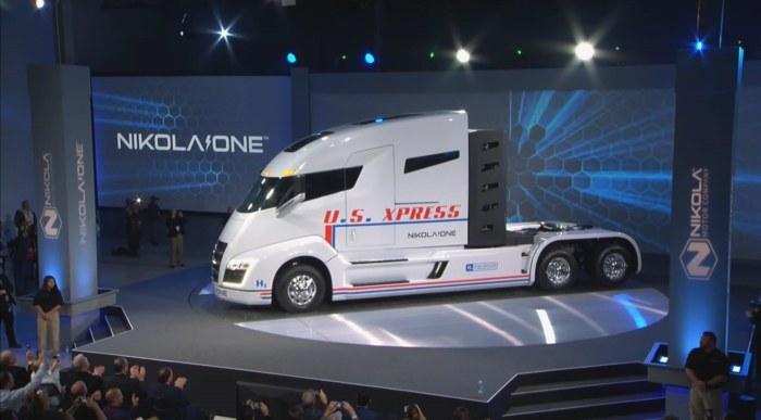 Nikola One - ciężarówka przyszłości /YouTube