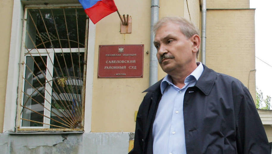 Nikołaj Głuszkow w 2006 roku /Belousov Vitaly /PAP/EPA