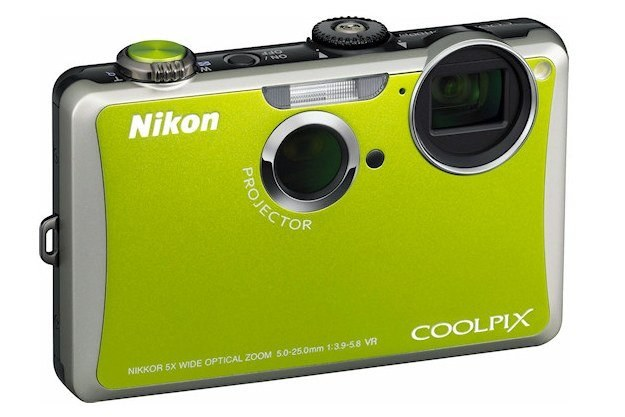Nikon Coolpix S1100pj /materiały prasowe