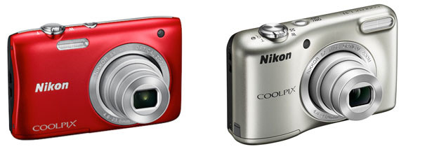 Nikon Coolpix S2900 i Nikon Coolpix L31. /materiały prasowe
