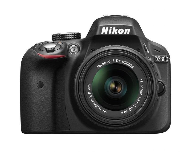 Nikon D3300 /materiały prasowe
