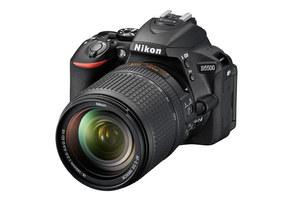 Nikon D5500 - lustrzanka formatu DX z ruchomym ekranem dotykowym