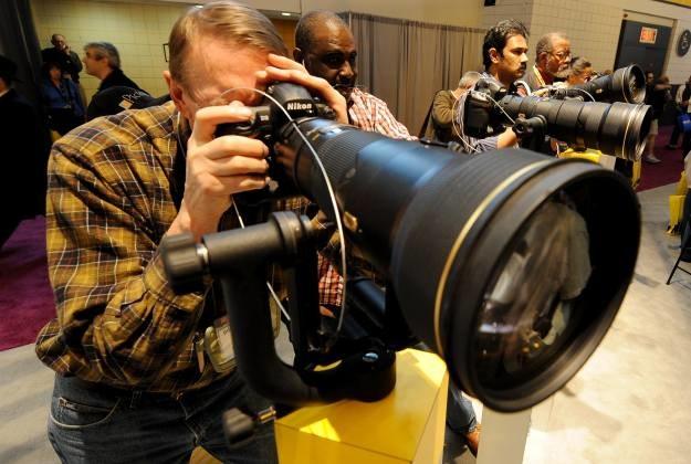 Nikon wyprodukował już 75 milionów obiektywów /AFP