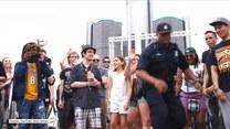 Nikt by się nie spodziewał, że tak tańczy… policjant