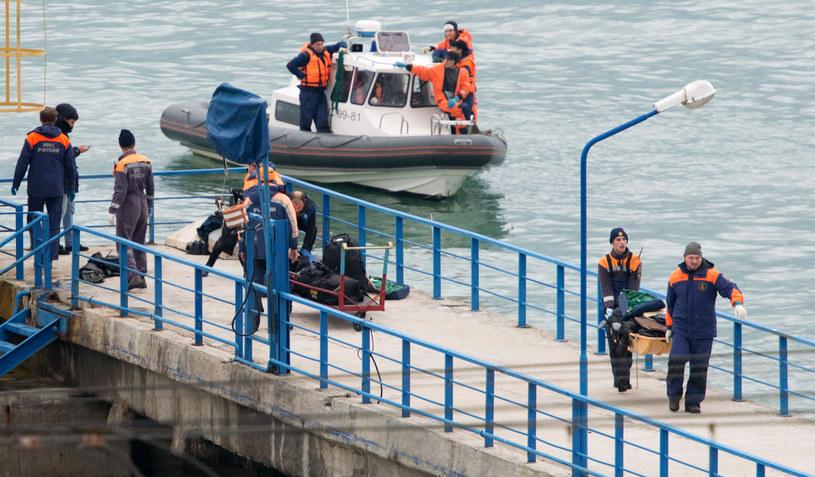 Nikt nie przeżył katastrofy wojskowego samolotu niedaleko Soczi /STRINGER /AFP