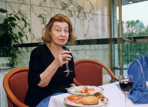 Nina Andrycz w 2002 roku /Prończyk /AKPA