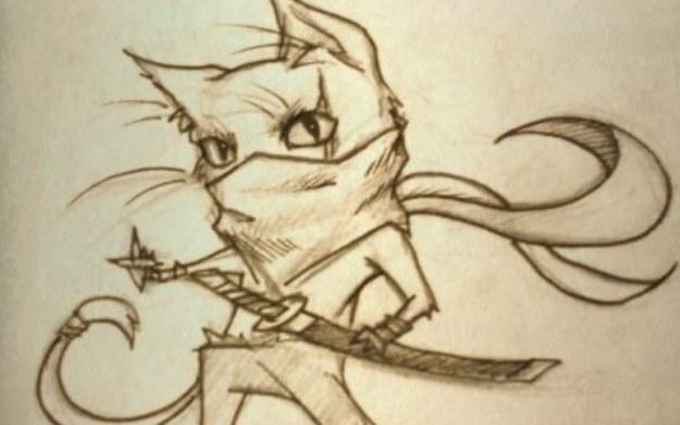 Ninja Cat and Zombie Dinosaurs /materiały prasowe