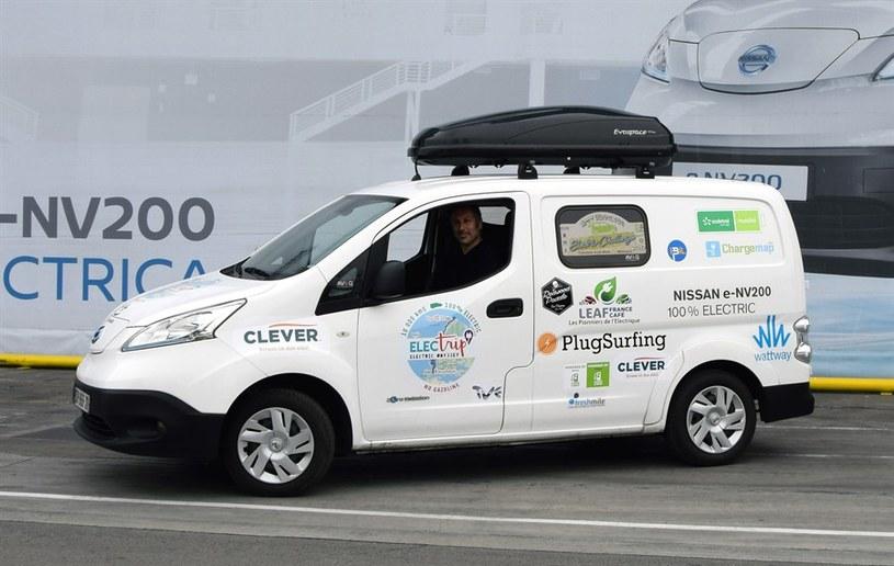 Nissan e-NV200 zapewnia zasięg do 170 kilometrów /INTERIA.PL/informacje prasowe