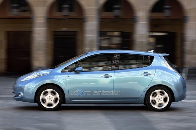 Nissan leaf pojawi się w Polsce w 2013 roku /