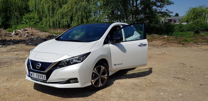 Nissan Leaf /INTERIA.PL