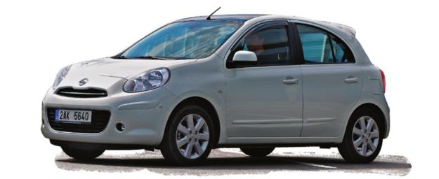 Nissan Micra K13 /Motor