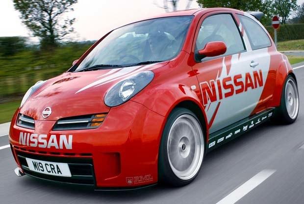 Nissan Micra R (kliknij) /INTERIA.PL