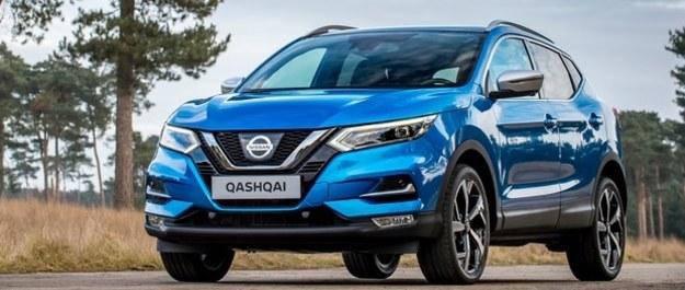 Nissan Qashqai po face liftingu