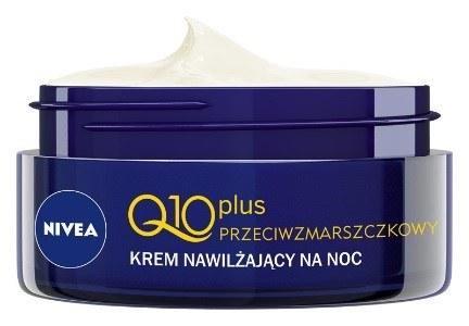 NIVEA Q10plus Przeciwzmarszczkowy krem nawilżający na noc /materiały prasowe