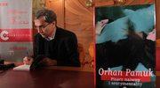 Noblista Orhan Pamuk spotkał się w Krakowie z czytelnikami