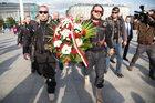 Nocne Wilki: Część motocyklistów złożyła kwiaty na Grobie Nieznanego Żołnierza