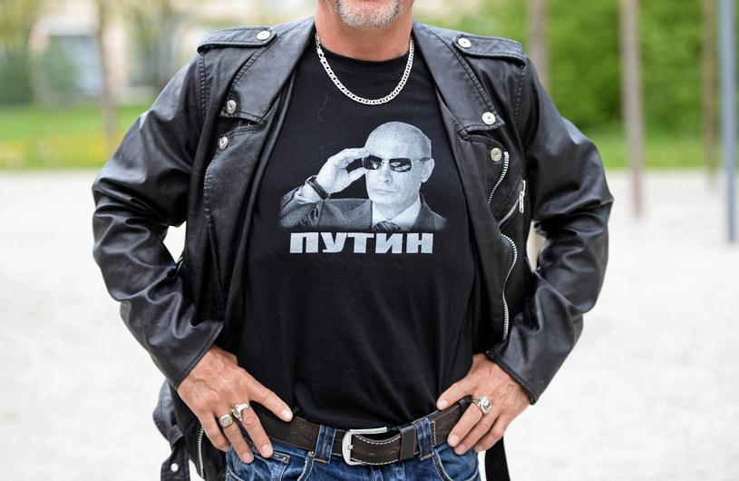 Nocne Wilki to ulubieńcy Putina /Andreas Gebert /PAP/EPA