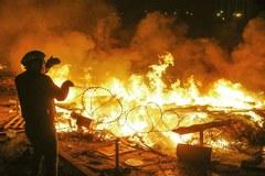 Nocny atak na Majdan