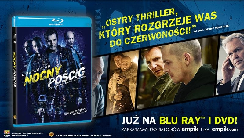 """""""Nocny pościg"""" pojawił się w sklepach na płytach DVD i Blu-ray /materiały dystrybutora"""
