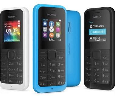 Nokia 105 Dual SIM w ulepszonej wersji zaprezentowana