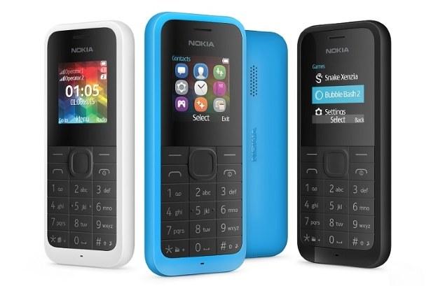 Nokia 105 Dual SIM /materiały prasowe