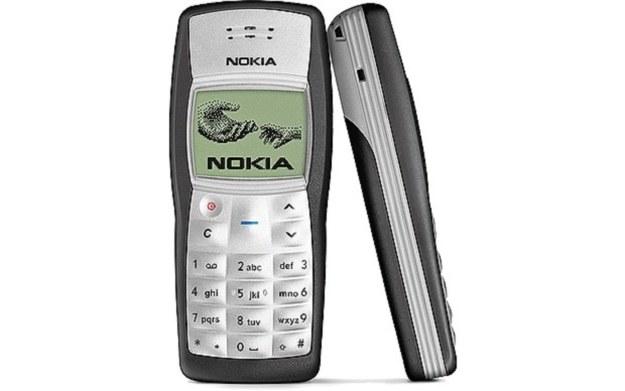 Nokia 1100 /materiały prasowe