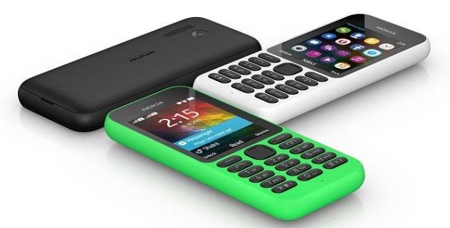 Nokia 215 /materiały prasowe