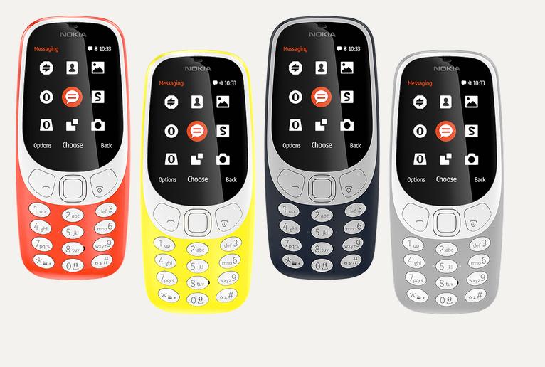 Nokia 3310 będzie dostępna w 4 kolorach /materiały prasowe