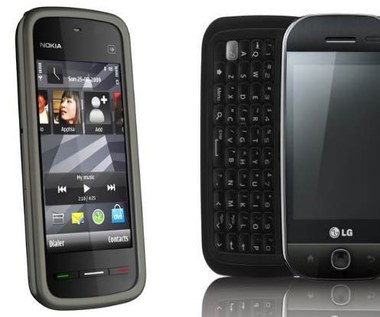 Nokia 5230 i LG GW620 - testy wideo
