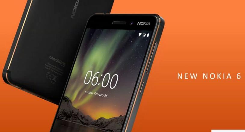 Nokia 6 /materiały prasowe