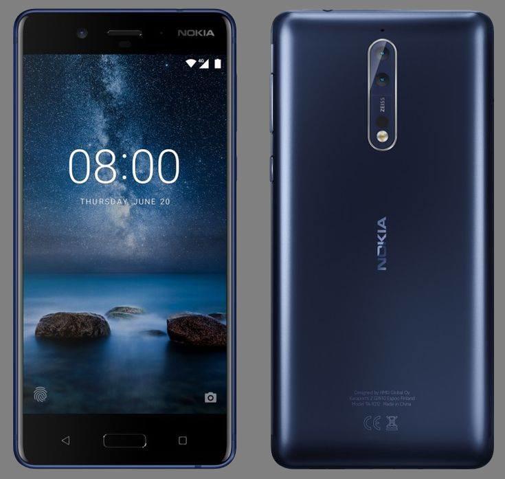 Nokia 8 /materiały prasowe