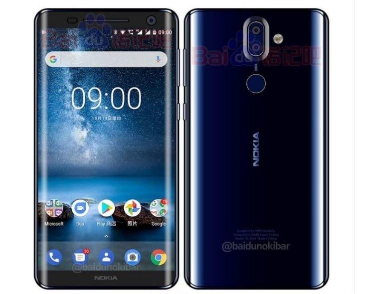 Nokia 9 będzie miała cienkie ramki i zaokrąglone krawędzie /Baidu /Internet