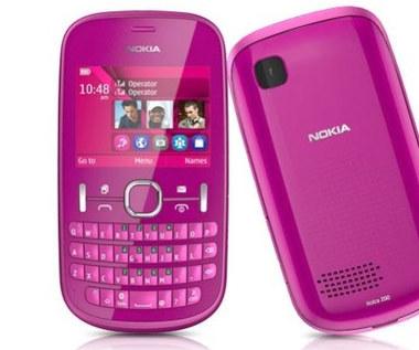 Nokia Asha 200 - dual SIM z QWERTY za 350 zł