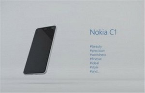 Nokia C1 - fiński smartfon z Androidem na horyzoncie