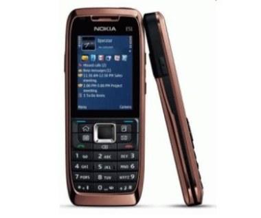 Nokia E51 - biznesowa łączność