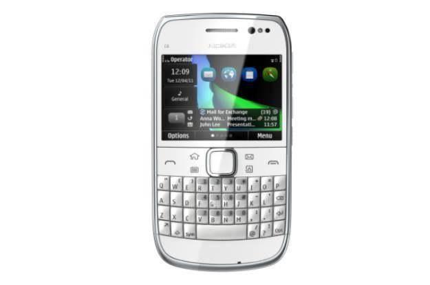 Nokia E6 /materiały prasowe