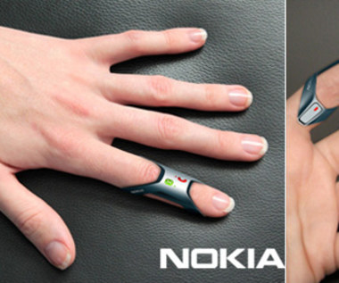 Nokia FIT - telefon na palec