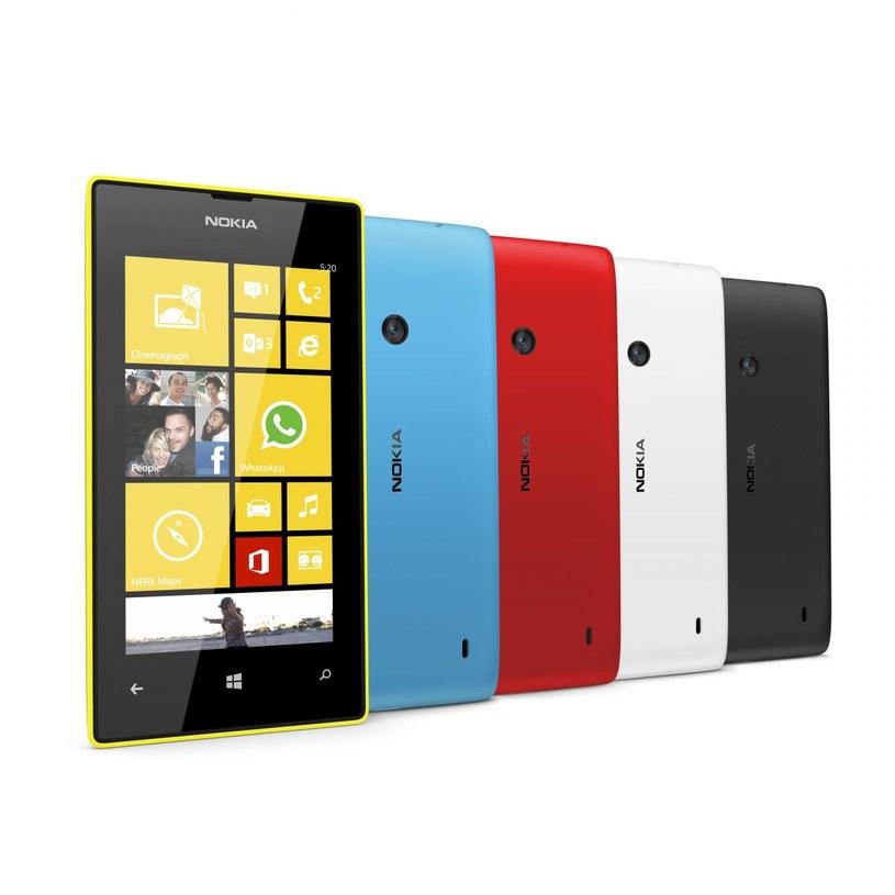 Nokia Lumia 520 - kolejny smartfon z rodziny Lumia /materiały prasowe