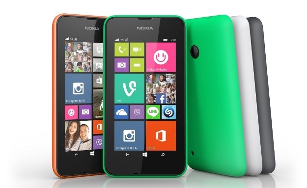 Nokia Lumia 530 /materiały prasowe