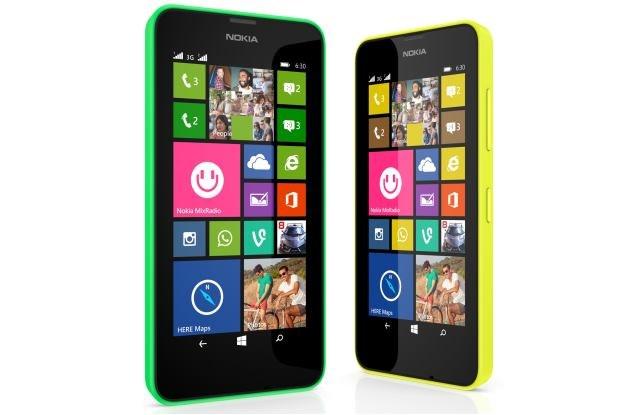 Nokia Lumia 630 /materiały prasowe
