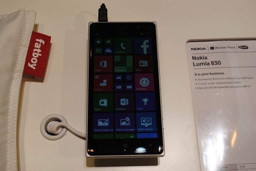 Nokia Lumia 830 /INTERIA.PL
