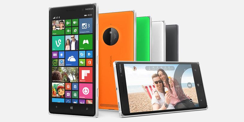Nokia Lumia 830 /materiały prasowe