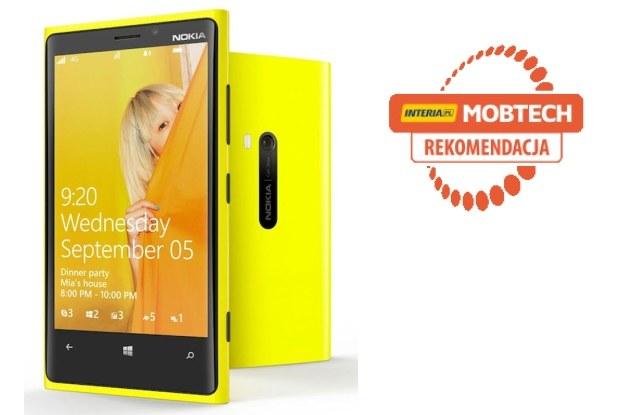 Nokia Lumia 920 otrzymuje rekomendację serwisu Mobtech INTERIA.PL /materiały prasowe
